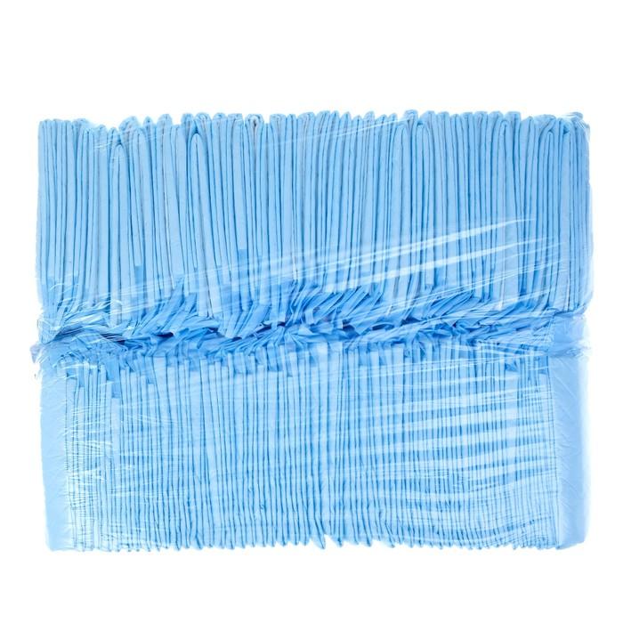 Пеленки впитывающие с суперабсорбентом, 60х40 см (в наборе 100 шт)