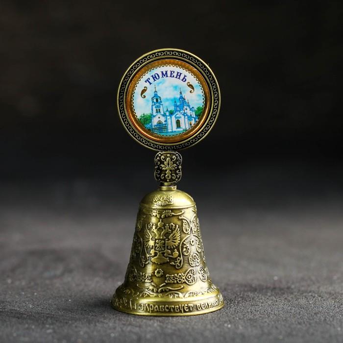 Колокольчик со вставкой «Тюмень. Знаменский собор» - фото 798183864