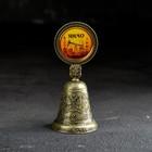 Колокольчик со вставкой «ЯНАО» (нефтяная), 4,4 х 10 см