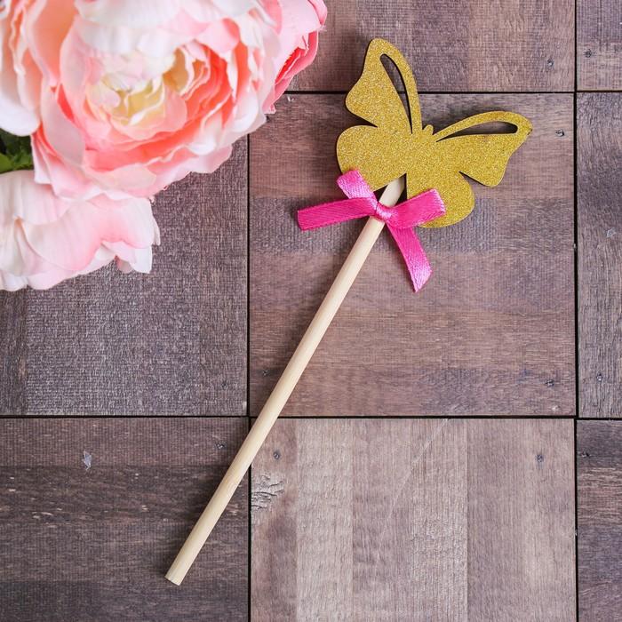 Декоративный штекер «Бабочка», 7 × 14 см