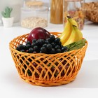 A fruit basket and bread in the Desert 28х28х11 cm