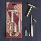 """Набор инструментов """"Man"""", 6 в 1, молоток, отвертки"""