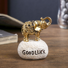 "Souvenir Polyresin ""Elephant - Good luck"" MIX gold/silver 6,5х5х4 cm"