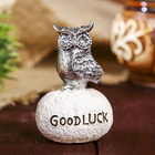 "Souvenir Polyresin ""Owl - Good luck"" MIX gold/silver 7,3х5х4 cm"