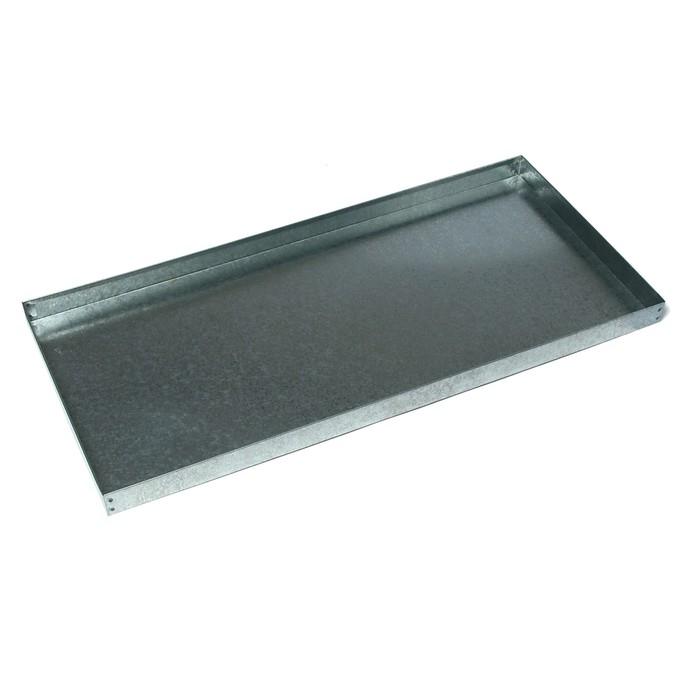 Поддон 44 × 94 × 5 см, металл