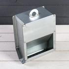 Кормушка для кроликов на 2,5 кг, бункерная, металл