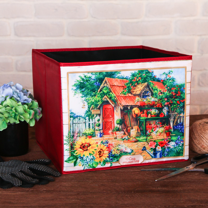Органайзер для хранения «Милый сад», 30 × 25 см