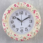 "Wall clock, series: Classic, ""Zinnia"", d=19cm"