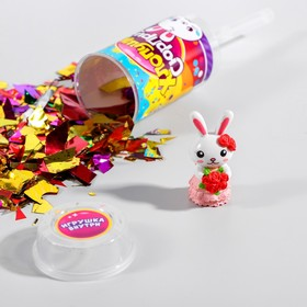 "Poppers with toy ""Firecracker surprise"", the Bunny"