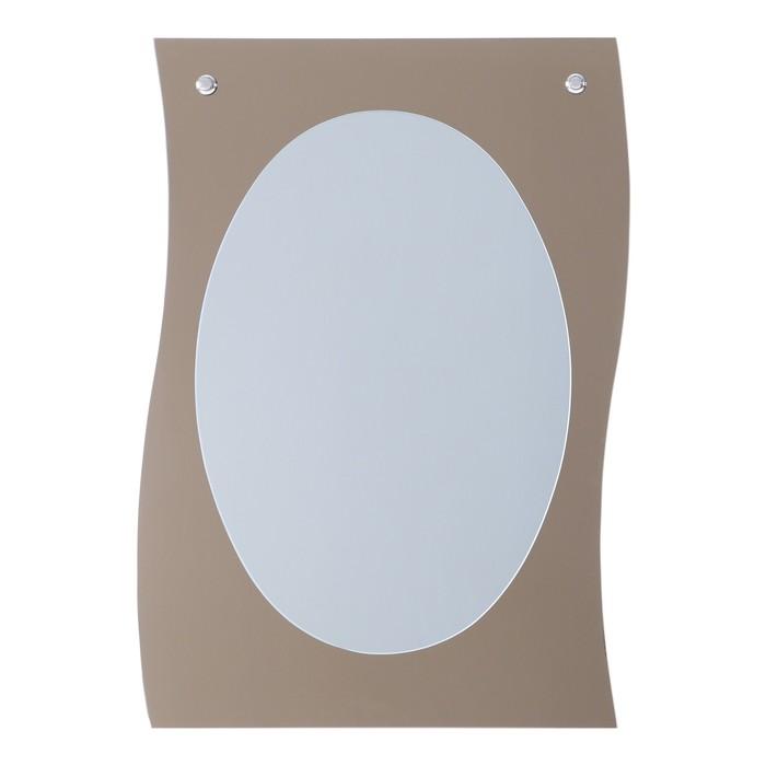 Зеркало, настенное, на подложке, 48×70 см
