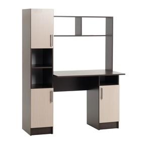 Стол компьютерный №6, Венге/Белфорт