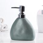 Дозатор для жидкого мыла «Мужской», 400 мл, цвет металлик