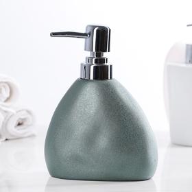 "The detergent dispenser ""Male"", color metallic"