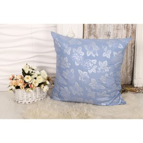Bed of 70x70 cm with a lightning Rose blue