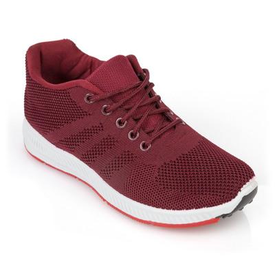 Кроссовки женские 429 MINAKU , цвет бордовый, размер 39