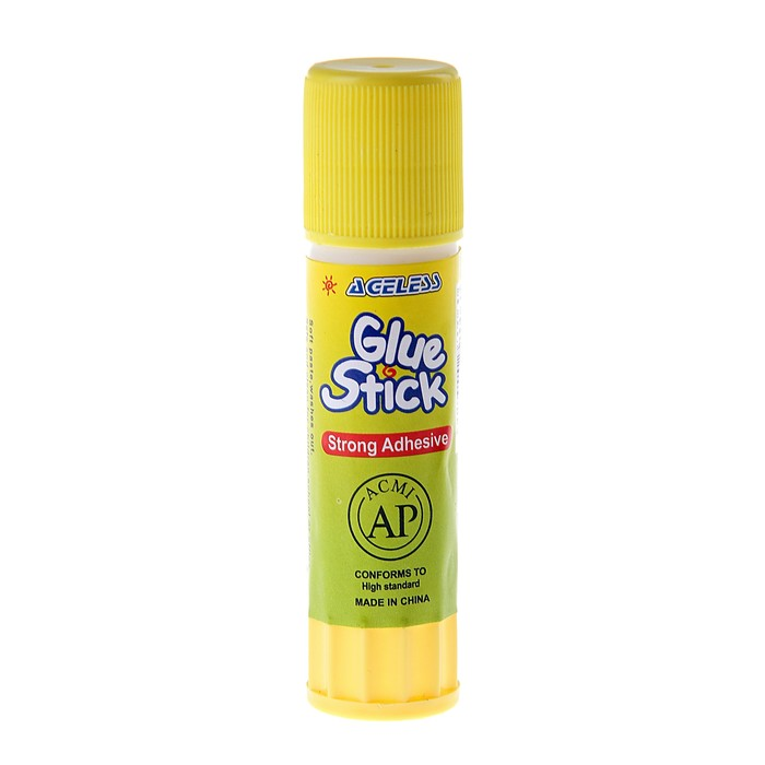 Клей-карандаш 8 гр, в желтом корпусе