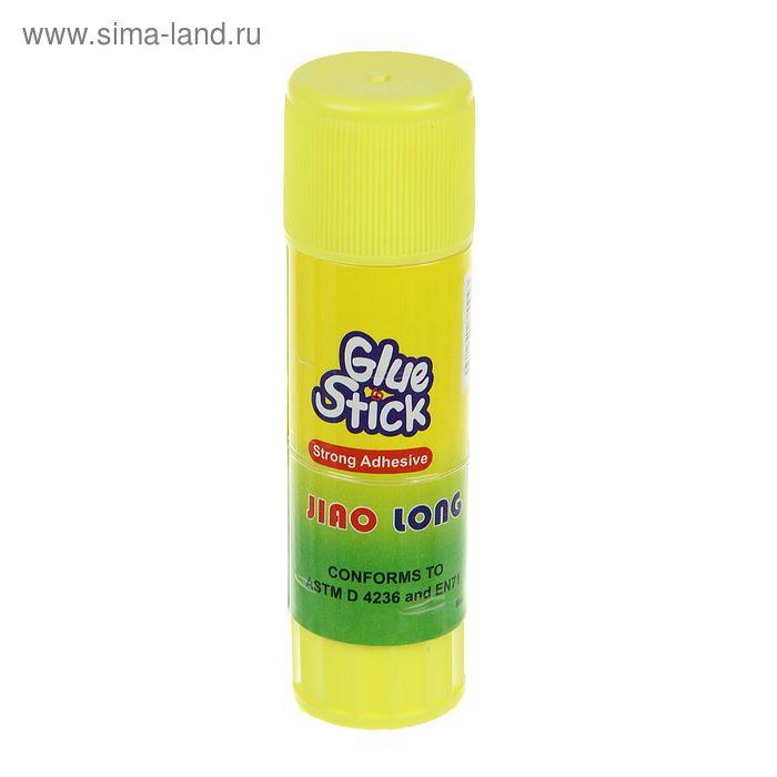 Клей карандаш, 21 гр, в желтом корпусе