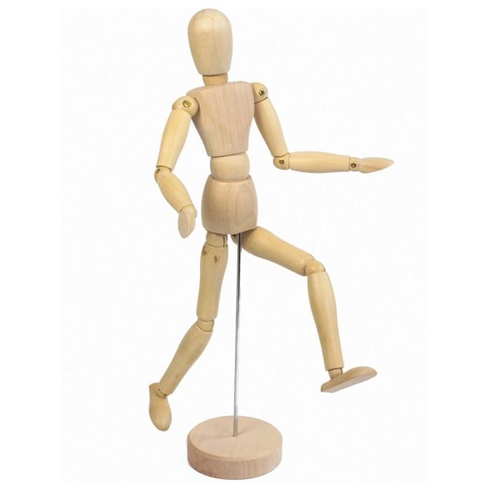 Деревянная фигура «Женщина», высота 30 см, BRAUBERG