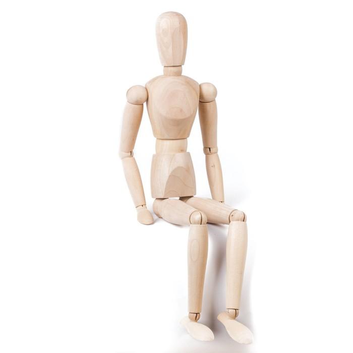 Деревянная фигура «Мужчина», высота 51 см, BRAUBERG