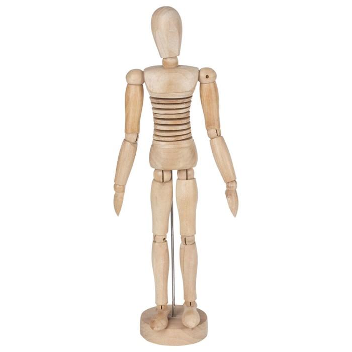 Деревянная фигура гибкая, Мужчина, высота 30 см BRAUBERG
