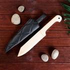 Сувенир деревянный «Нож в мягких ножнах» 34 см