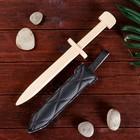 Сувенир деревянный «Кортик в мягких ножнах» 34см