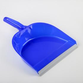 Совок для мусора с резинкой, цвет МИКС