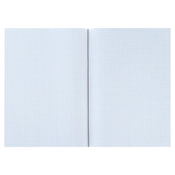 Тетрадь А4, 96 листов клетка Calligrata, «НЛО», белизна 95%, картонная обложка - фото 537610558
