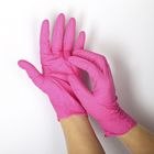 Перчатки нитриловые неопудренные, размер L, «Стандарт», 100 шт/кор, цвет розовый