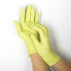 Перчатки нитриловые неопудренные, размер М, «Стандарт», 100 шт/кор, цвет зелёный