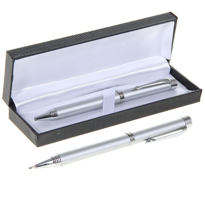 Ручка шариковая, подарочная, поворотная, в кожзам футляре, «Директор» - фото 369524731