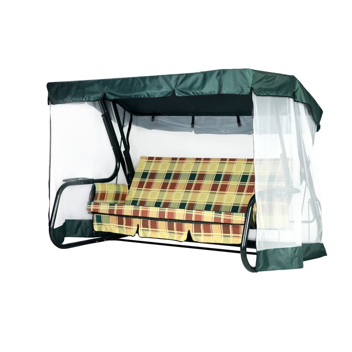 Тент-крыша + москитная сетка Сорренто зеленый