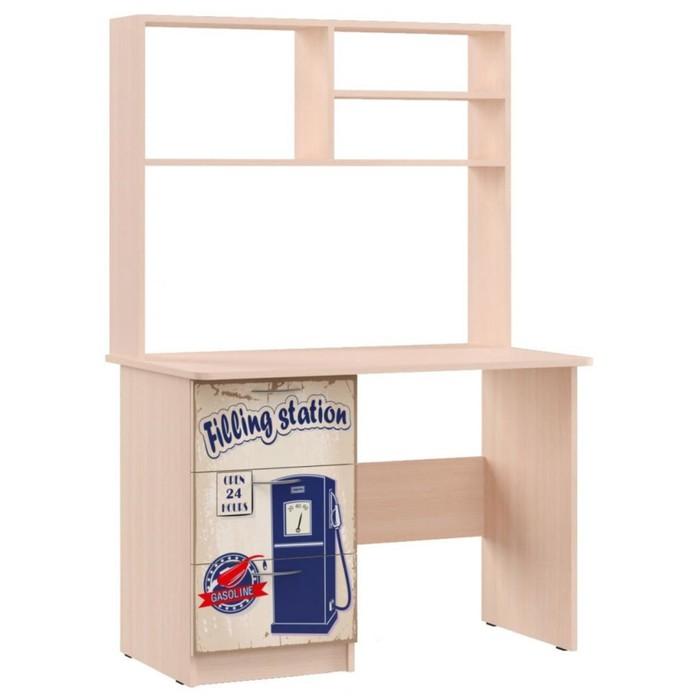 Стол для детской Ретро 1500х1000х600 Крем/корпус Дуб Выбеленный
