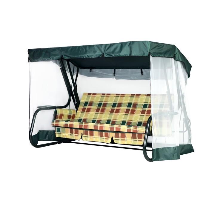 Тент-крыша + москитная сетка Палермо Премиум зеленый