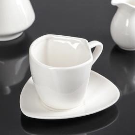"Кофейная пара ""Мохаве"": кружка 200 мл, блюдце 14х13 см"
