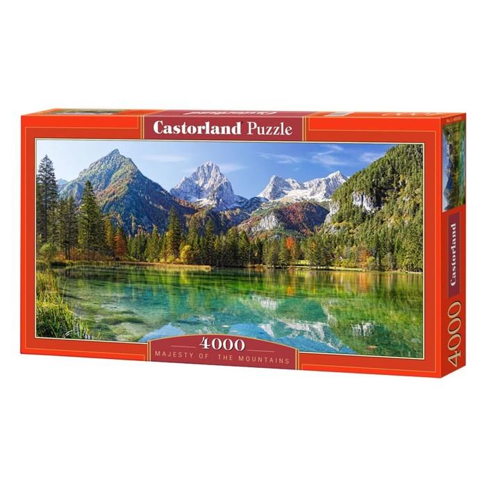 Пазл «Величие гор», 4000 элементов