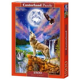 Пазл 1500 элементов «Волчья ночь»