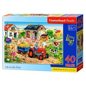 Макси-пазл 40 элементов «Жизнь на ферме»