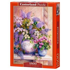 Пазл «Цветы сирени», 1500 элементов