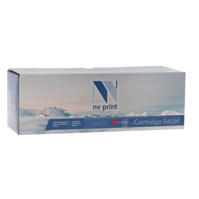 Картридж NV PRINT NV-045H Magenta для Canon i-SENSYS LBP611Cn/613Cdw/MF631 (2200k),пурпурный