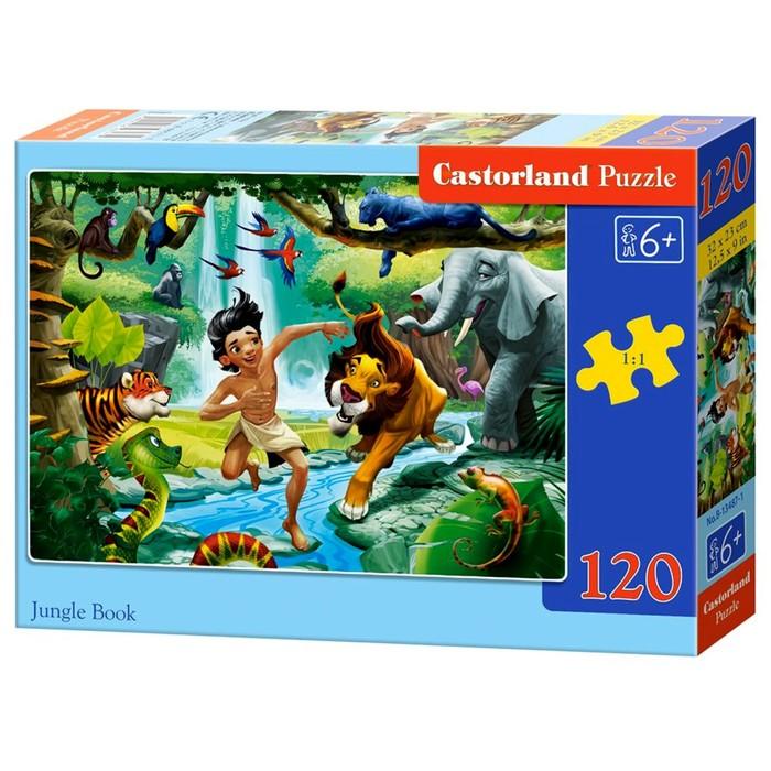 Пазл-миди 120 элементов «Книга джунглей»