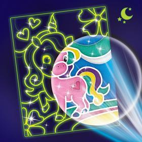 Лунная фреска 'Волшебный единорог' Ош