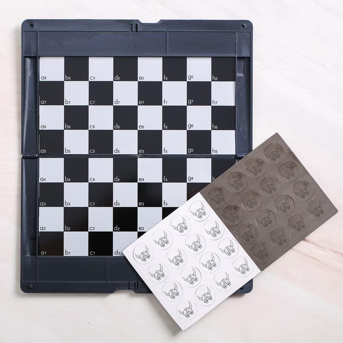 Игра в дорогу - шашки «Выбери свою сторону», р-р магнитного поля 17 × 10 см