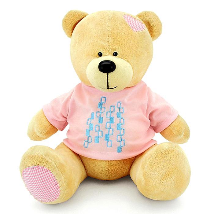 Мягкая игрушка «Медведь Топтыжкин», жёлтый, 30 см