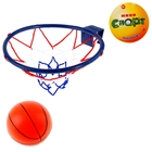 "Игра ""Баскетбол"": кольцо, мяч диаметр 12 см, цвета МИКС"