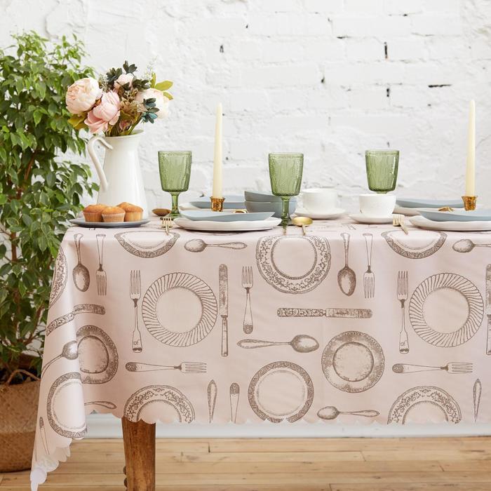"Tablecloth ""Share"" Dowry 110×140 cm, 100% p/e"