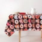 Скатерть «Доляна» Пончики 150×250 см, 100% п/э