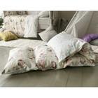 Матрасик с подушками «Совы» двусторонний 70×190 см, бязь/спанбонд - фото 105559440