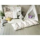 Матрасик с подушками «Совы» двусторонний 70×190 см, бязь/спанбонд - фото 105559441