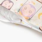 Матрасик с подушками «Совы» двусторонний 70×190 см, бязь/спанбонд - фото 105559443